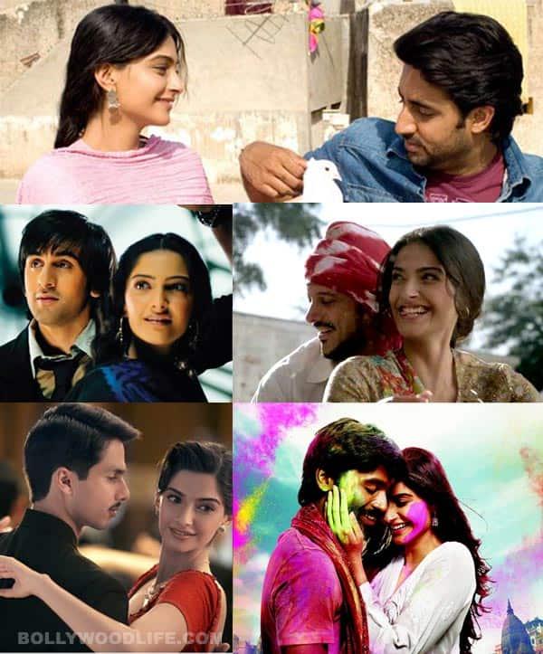 Ranbir Kapoor, Dhanush, Shahid Kapoor, Abhishek Bachchan, Farhan Akhtar: Who does Sonam Kapoor look best with?