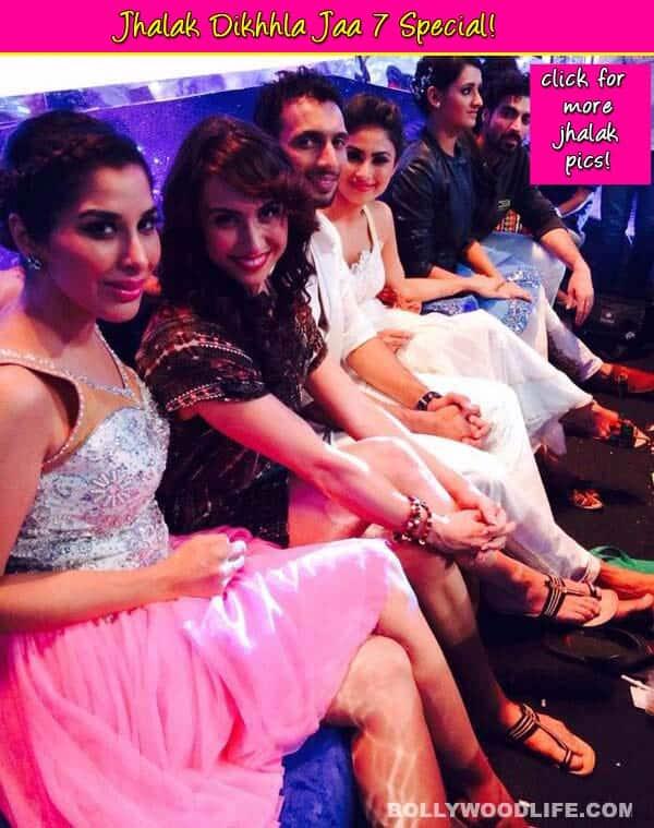 Jhalak Dikhhla Jaa 7: Siddharth Shukla, Drashti Dhami, Karan Tacker chilling on the sets – View pics!