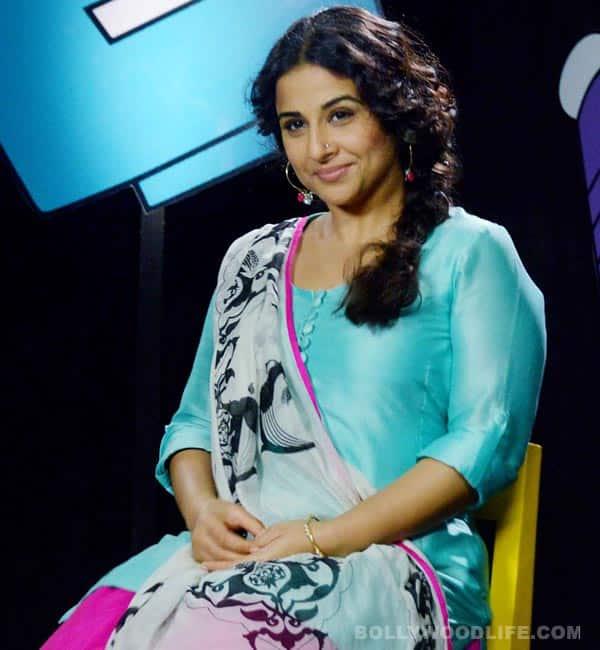 Vidya Balan turns gossip queen!
