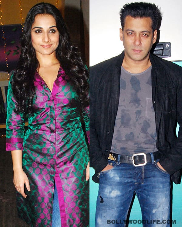 Vidya Balan soon to make announcement about Salman Khan's Kick