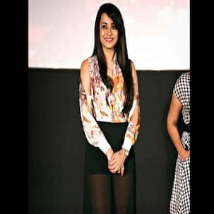 Trisha Krishnan flaunts her sexy legs in sheer pants!