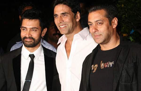 Salman Khan, Akshay Kumar and Aamir Khan hangout together!