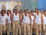 Ajay Devgn gets 2500 cops shirtless in Singham Returns!