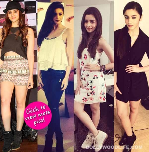Alia Bhatt goes quirky and sexy for Humpty Sharma Ki Dulhania promotions!