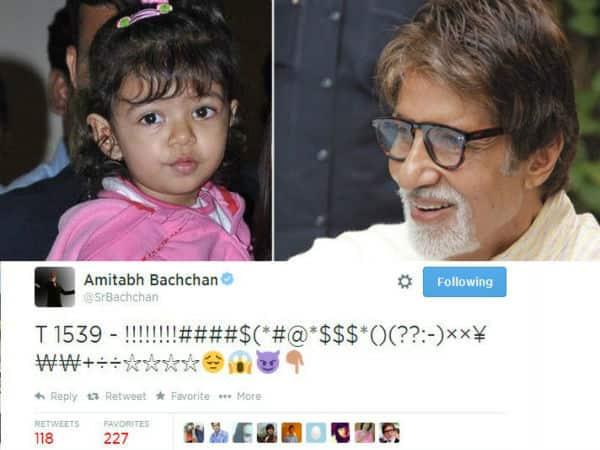 Is Aaradhya handling Amitabh Bachchan's Twitter account?
