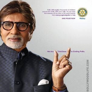 Amitabh Bachchan overjoyed with polio eradication from India