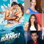 Priyanka Chopra, Sonam Kapoor and Karan Johar bowled over by Hrithik Roshan and Katrina Kaif's Bang Bang teaser!