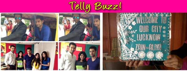 Beintehaa: Zain, Aaliya and Rehaan in Lucknow!