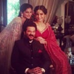 Anil Kapoor looks out for his daughters Sonam Kapoor and Rhea Kapoor