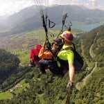 Naga Chaitanya and Pooja Hedge bond over paragliding!