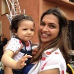 Deepika Padukone poses with a cute fan on the sets of Tamasha- View pic!