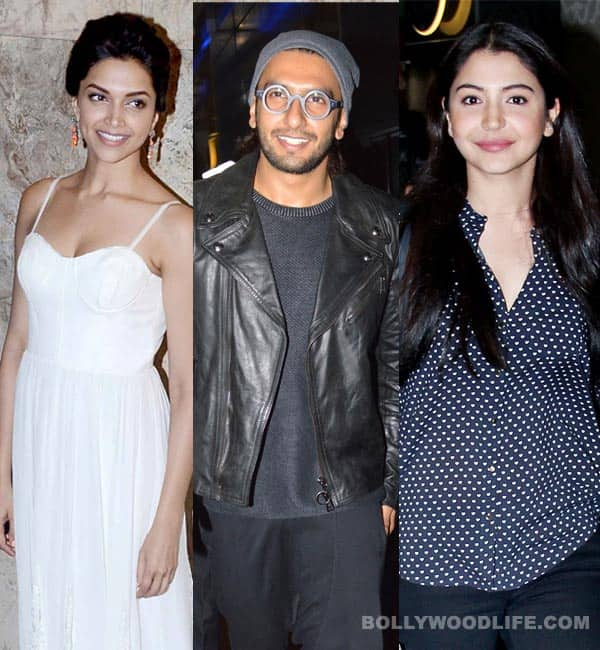 When Deepika Padukone, Ranveer Singh and Anushka Sharma dined together…