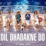 Dil Dhadakne Do poster: Priyanka Chopra, Ranveer Singh, Anushka Sharma chill on the cruise!