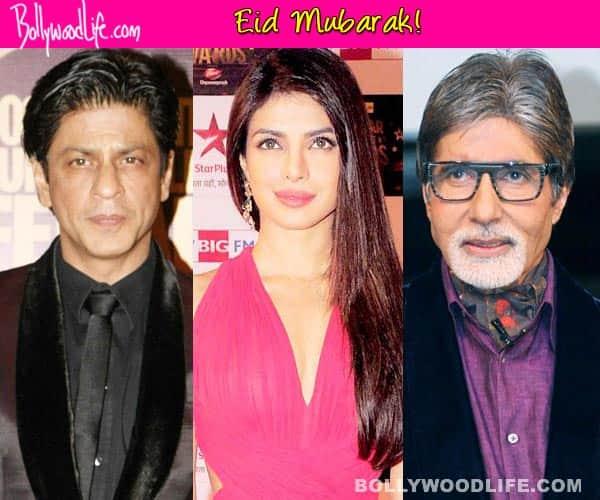 Eid Mubarak, tweet Shah Rukh Khan, Priyanka Chopra, AmitabhBachchan!