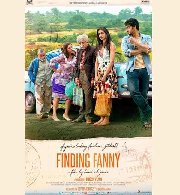 Finding Fanny new poster: Arjun Kapoor smitten by Deepika Padukone?