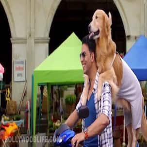 Entertainment song Veerey Di Wedding making: Akshay Kumar and Tamannaah dance to the doggy beats!