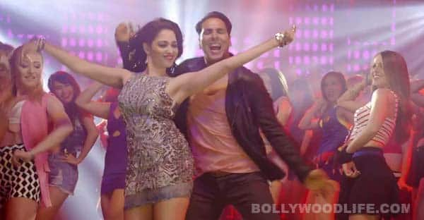 Entertainment song Teri Mahima Aprampaar: Udit Narayan's rendition reminds you of old Akshay Kumar songs!