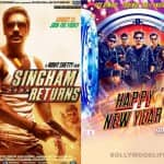Shah Rukh Khan and Ajay Devgn patch-up: Happy New Year trailer to be out with Singham Returns on August 15!