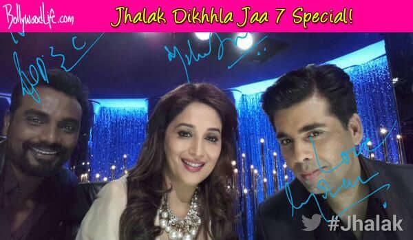 Jhalak Dikhhla Jaa 7: Madhuri Dixit, Remo D'souza and Karan Johar to mentorstudents