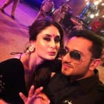 Kareena Kapoor Khan poses with Yo Yo Honey Singh - view pic!