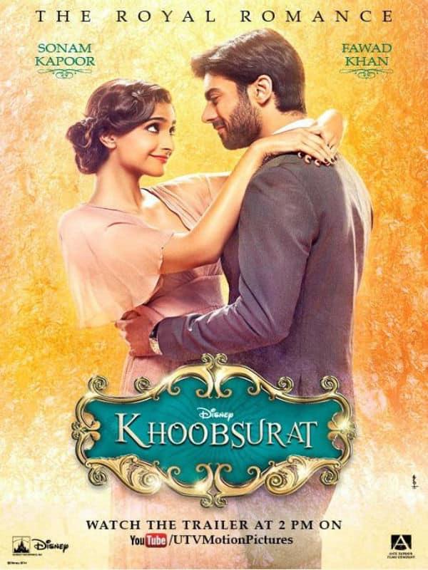 Khoobsurat poster: Sonam Kapoor and Fawad Khan's fairy-tale romance looks cute!
