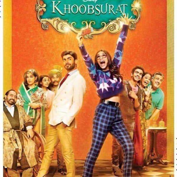 Khoobsurat third poster: Sonam Kapoor makes a goofy misfit amidst the royals!