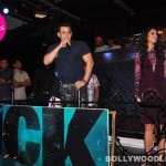 Salman Khan sings for the media at the launch of his Devil song: View pics!