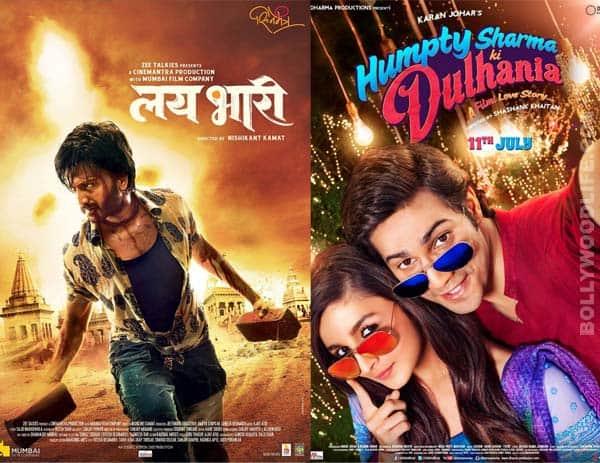Riteish Deshmukh's Lai Bhaari poses stiff competition to Alia Bhatt's Humpty Sharma Ki Dulhania!