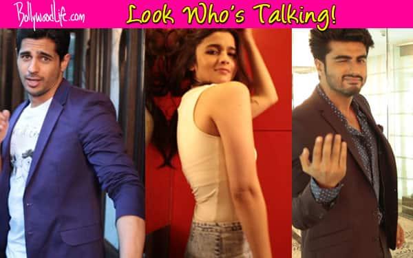 Alia Bhatt, Sidharth Malhotra and Arjun Kapoor groove for Look Who's Talking!