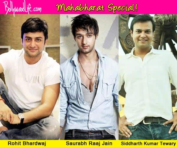 Mahabharat: Saurab Raaj Jain, Rohit Bhardwaj and Siddharth Kumar Tiwary get nostalgic about their journey on the show!