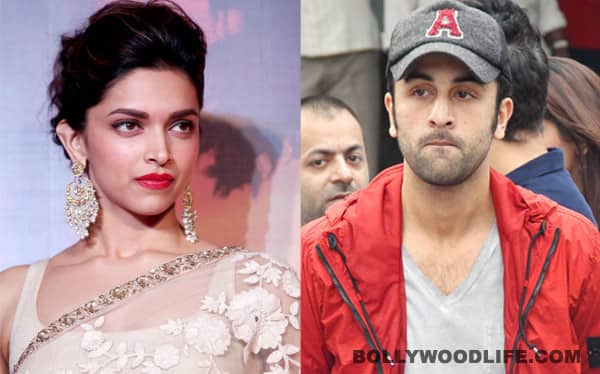 Deepika Padukone ignores Ranbir Kapoor in France ... Deepika Padukone And Ranbir Kapoor Break Up