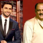 Ranveer Singh bonds with Alok Nath on the sets of Kill Dil!