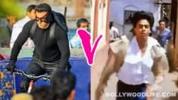 Salman Khan Chase sequence, Shah Rukh Khan chase sequence, Kick, Darr