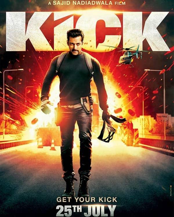 Kick new poster: Salman Khan impresses in his new irresistible avatar!