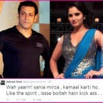 Salman Khan voices support for Sania Mirza!