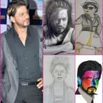 Shah Rukh Khan's 100 sketches and still counting on Twitter!