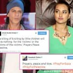 Shah Rukh Khan, Sonakshi Sinha, Arjun Kapoor pray for peace in Gaza