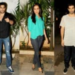 Shraddha Kapoor, Sidharth Malhotra, Aditya Roy Kapoor at Ek Villain's success bash- View pics!