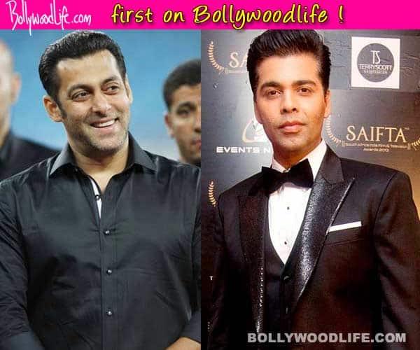 Karan Johar: Shhuddhi will star Salman Khan and will release Diwali 2016!