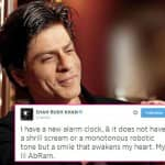 Find out about Shah Rukh Khan's new alarm clock!