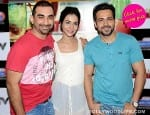 Emraan Hashmi and Humaima Malik promote Raja Natwarlal on a radio show-view pics!