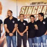 Ajay Devgn, Kareena Kapoor Khan, Rohit Shetty at Singham Returns trailer launch- View pics!
