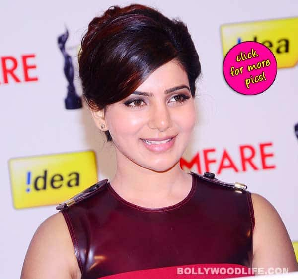 Samantha at 61st Idea FilmFare Awards South- view pics!