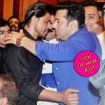 Shah Rukh Khan and Salman Khan's 'hugging moment' at Baba Siddique's Iftaar party-view pics!