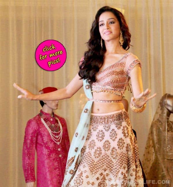 Shraddha Kapoor dazzles in her desi avatar at India Bridal Fashion Week- view pics!
