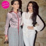 Spotted: Sonam Kapoor and Jacqueline Fernandez at a theatre!