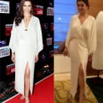 Deepika Padukone or Hansika Motwani: Who wore the DvF maxi better? Vote!