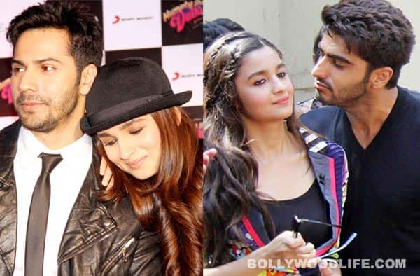 Decoding Varun Dhawan, Alia Bhatt and Arjun Kapoor's love triangle!