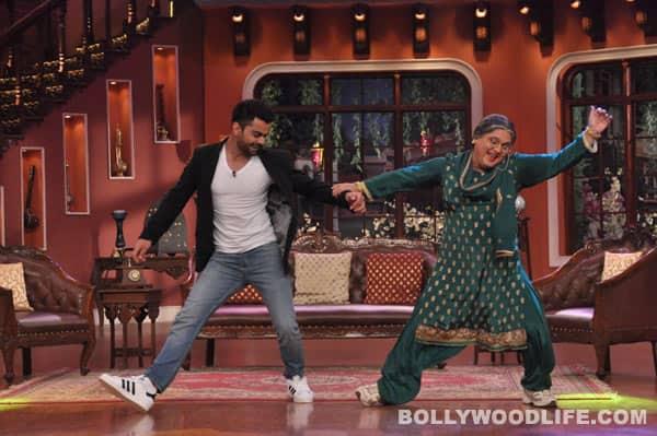 Comedy Nights with Kapil: Anushka Sharma's alleged beau Virat Kohli shakes a leg on Kapil Sharma's show!
