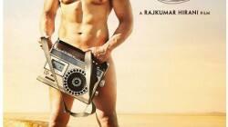 Aamir Khan, P.K. poster